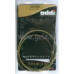 Спицы металлические круговые супергладкие 120 см (Addi) №4