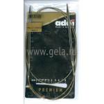 Спицы металлические круговые супергладкие 120 см (Addi) №4.5
