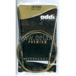 Спицы металлические круговые супергладкие 120 см (Addi) №5