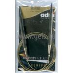 Спицы металлические круговые супергладкие 120 см (Addi) №9