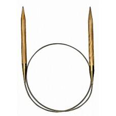 Спицы круговые из оливкового дерева 80 см(Addi),