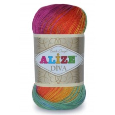Diva batik,  100% микрофибра акрил