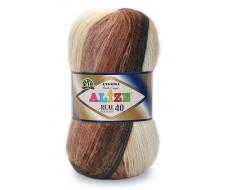 Angora real 40 batik, 40 % шерсть - 60 % акрил