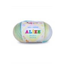 Baby wool batik, 40% шерсть - 20% бамбук - 40% акрил