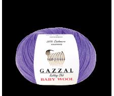 Baby wool (Gazzal), 40% мериносовая шерсть, 20% кашемир, 4 % полиакрил
