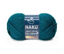 Sport wool с люрексом, 25%-шерсть,3%-люрекс,72%- премиум акрил