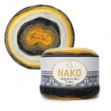 Angora Luks Color,15%-шерсть,5%-мохер,80%-премиум акрил