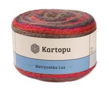 Matryoshka Lux,14%-шерсть, 10%-шерсть Линкольн ,72%-акрил,4%-люр