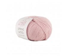 Spring Wool, 50% непилингуемая шерсть мериноса, 50% хлопок